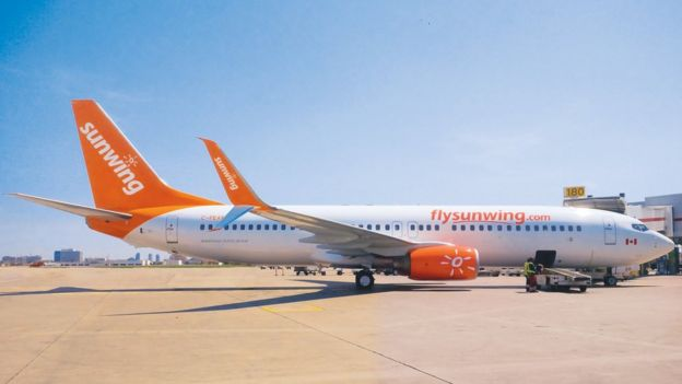 Sunwing Airlines Boeing