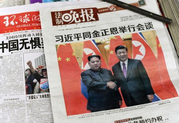 Правительства Китая и Северной Кореи подтвердили, что Ким Чен Ын посетил Пекин лишь после того, как тот вернулся на родину