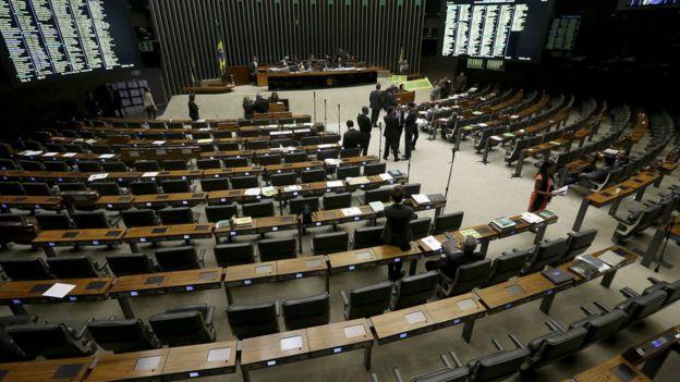 Plenário da Câmara dos Deputados em foto de arquivo