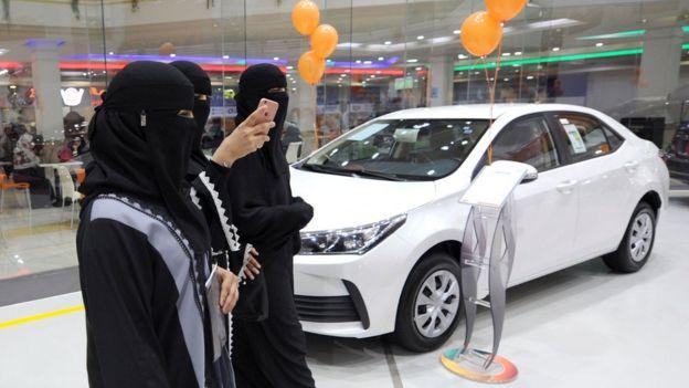 Pameran mobil untuk perempuan
