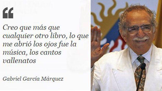 Cita de Gabriel García Márquez