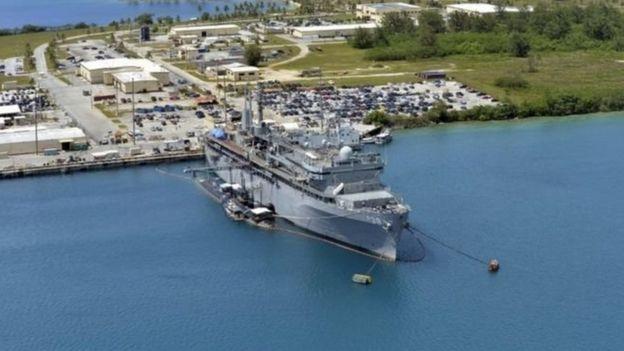 Saldhiga ciidamada Maraykanka ee jasiirada Guam