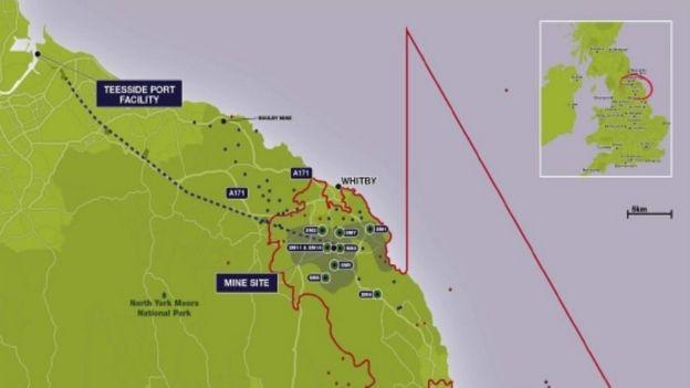 North York Moors potash mine ready by 2021 company says  BBC News