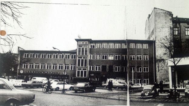 The west Berlin BBC office at Savignyplatz