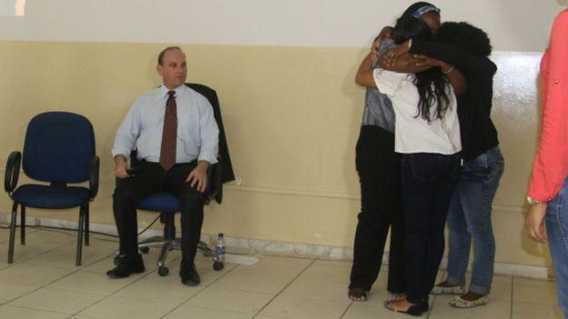 Juiz Sami Storch observa conciliação após técnica de constelação familiar em vara judicial na Bahia | Foto: Sami Storch