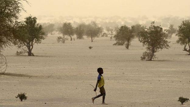 Menino no Sahel