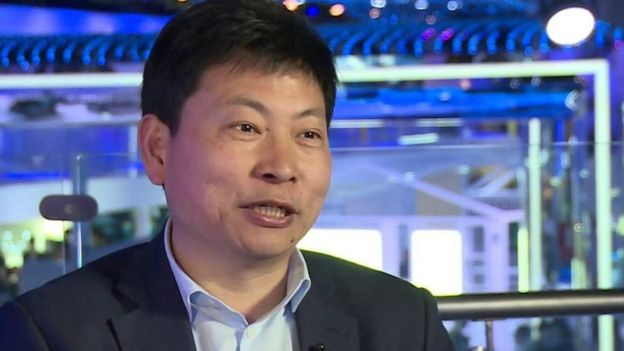 Richard Yu, director ejecutivo de Huawei
