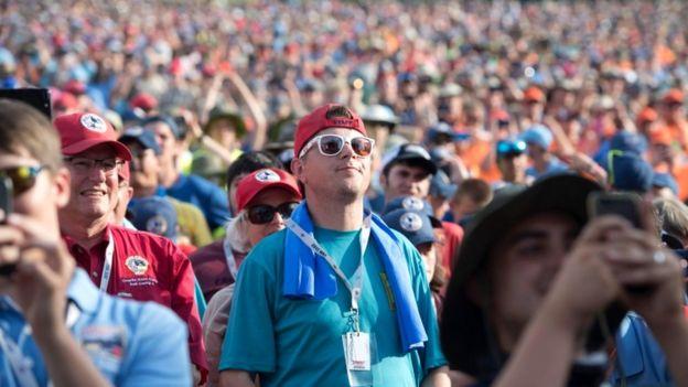 Audience at the Jamboree