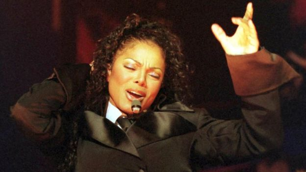 Janet Jackson on the Velvet Rope tour