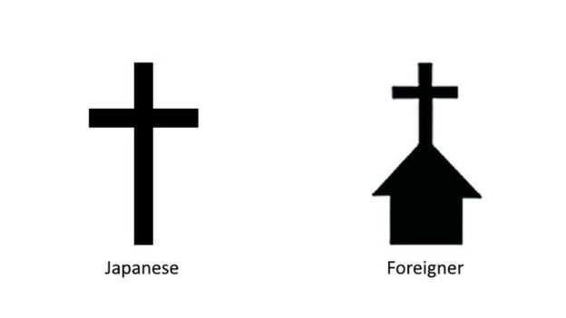 Graphic Of Japan Map Symbols For Foreigners And Japanese