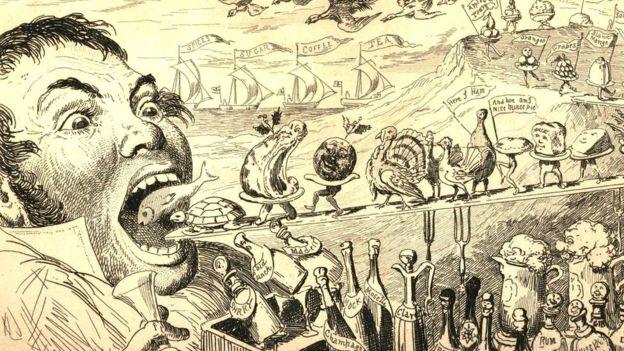 В викторианскую эпоху люди ели от души, но гробовых дел мастер Уильям Бантинг был убежден, что переедание приводит к преждевременной смерти