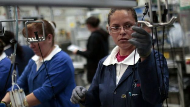 Mujeres laborantes
