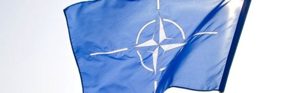 A Nato flag