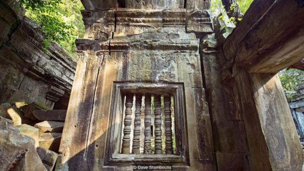 Cảnh hoang vu kỳ bí của đền Beng Mealea lại là một phần của sự hấp dẫn