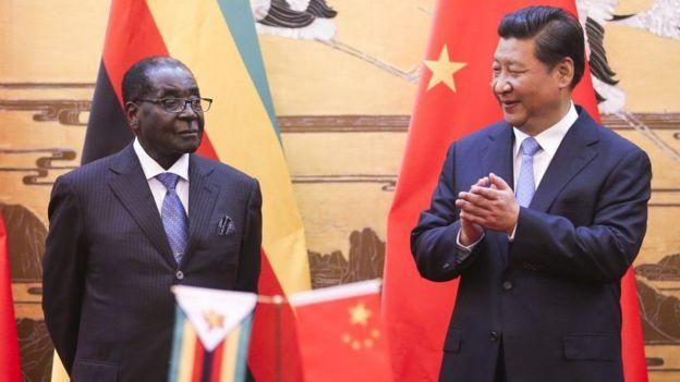 चीन जिम्बाब्वे