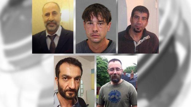 Clockwise from left: Majeed Kayhan, Dean Lisowick, Soroush Marmudi, Selim Esen, Andrew Kinsman