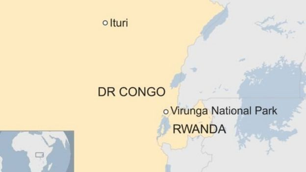 Mbuga ya wanyama pori ya Virunga DR Congo