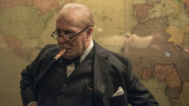 Gary Oldman en Darkest Hour (Foto: IMDB)