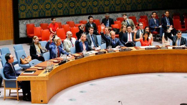 El Consejo de Seguridad de la ONU votó para sanciones contra Corea del Norte