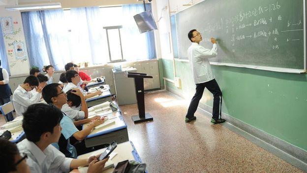 En Shanghái los criterios de evaluación de maestros se establecen a nivel nacional.