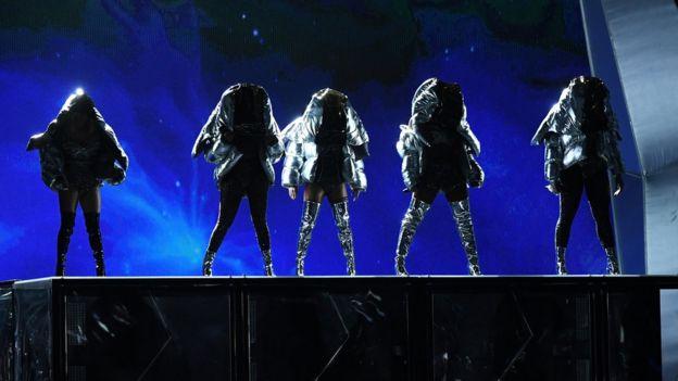 Actuación de Fifth Harmony