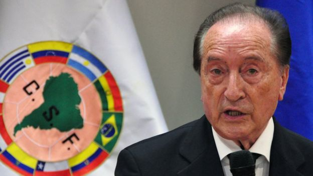 Eugenio Figueredo. File photo
