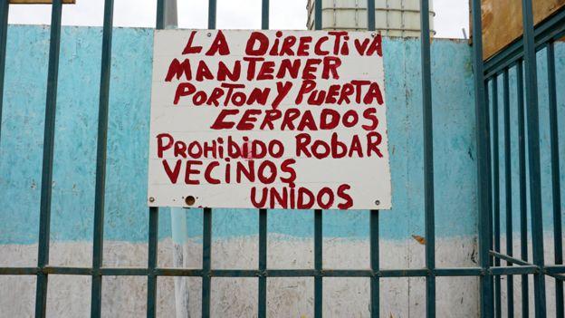 Aviso en Antofagasta