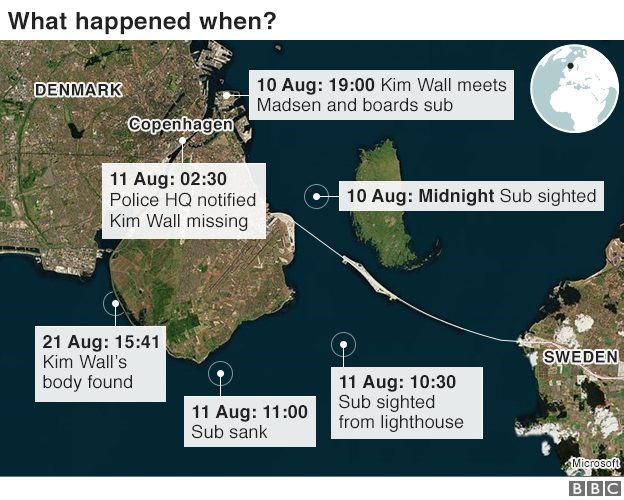 map shows what happened when