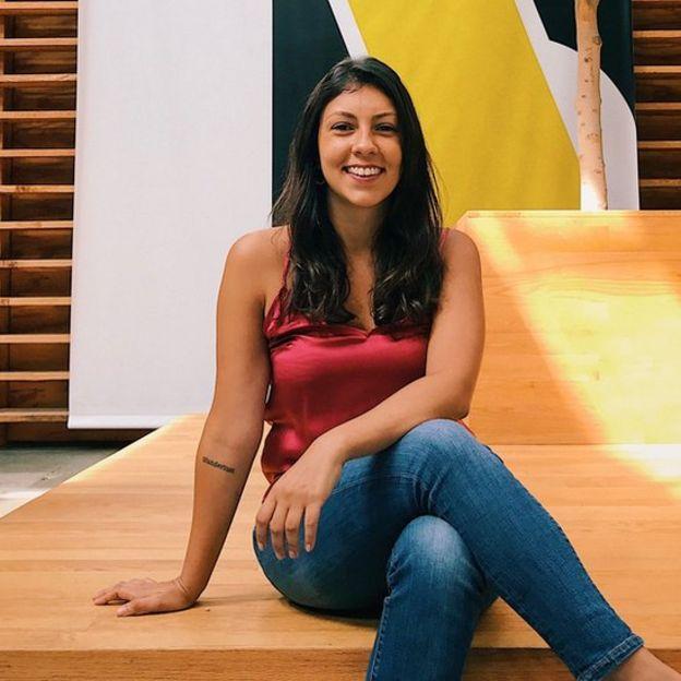 A executiva Carol Saraiva