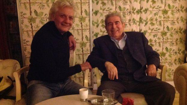 Stelyo Berberakis ve Dimitris Hristofiyas
