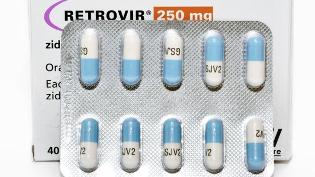 HIV drug efavirenz - used as part of antiretroviral therapy treatment