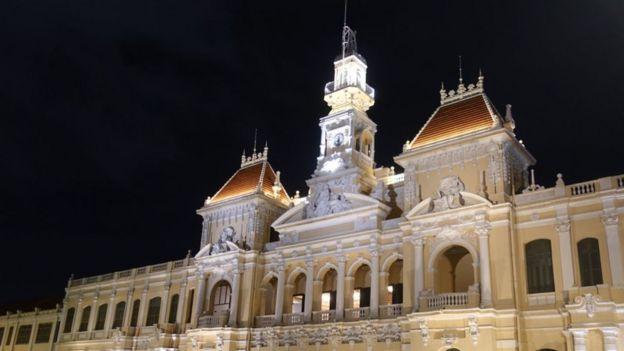 Trụ sở UBND TP Hồ Chí Minh