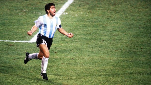 Diego Maradona en Italia 1990