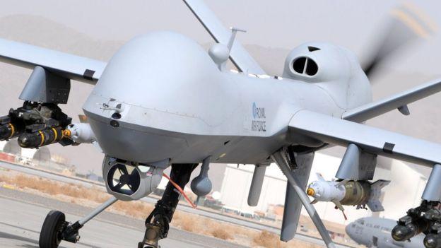 Reaper MQ-9 Remotely insansız hava aracı