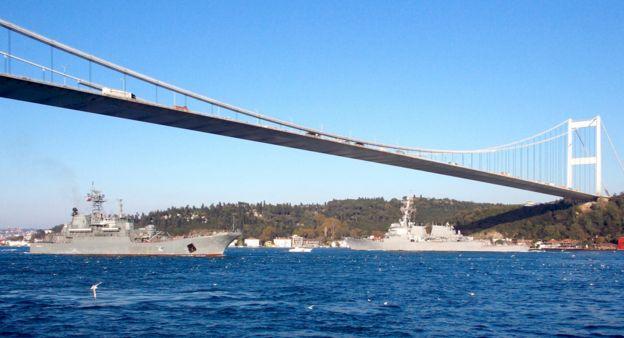 Novoçerkassk ve USS Ross