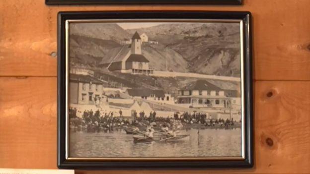 Cuadro de Tilt Cove de principios de siglo