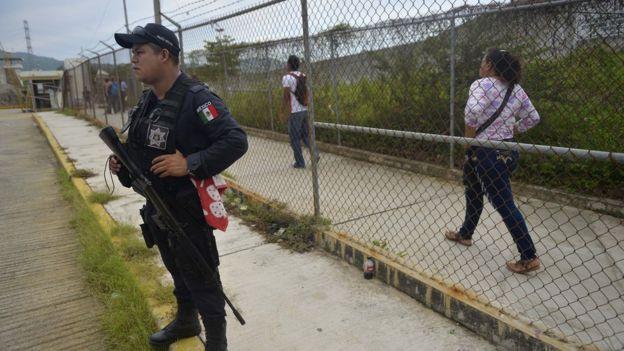 Prisión de Las Cruces en Acapulco
