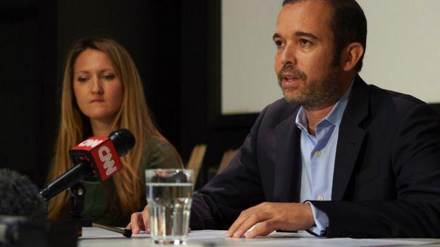 Antonio Mugica, director ejecutivo de Smartmatic