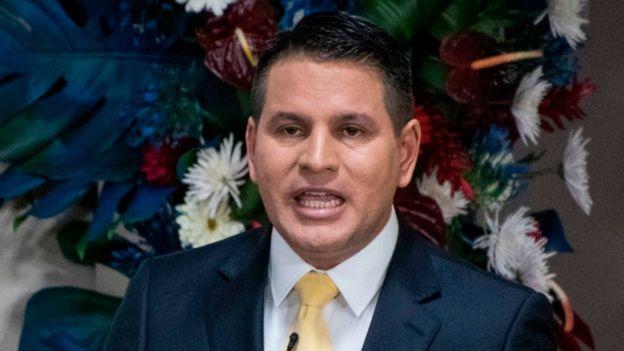El candidato conservador Fabricio Alvarado. (Foto: Ezequiel Becerra/AFP)