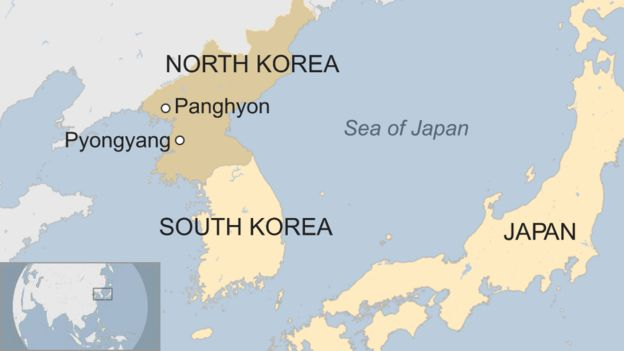 US Says North Korea Fired Missile Into Japanese Waters BBC News - Map of us and japan