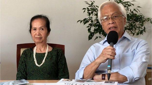 Chuyên gia Phạm Chi Lan (trái) và Giáo sư Chu Hảo
