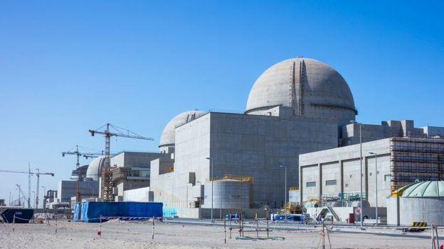Usina nuclear de Barakah, nos Emirados Árabes