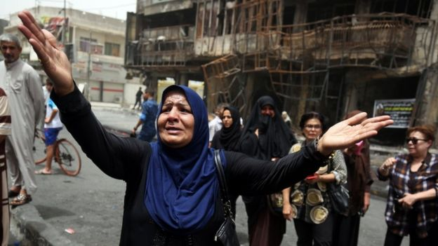 15 die in Iraq after IS women suicide bombers hit back in Mosul.