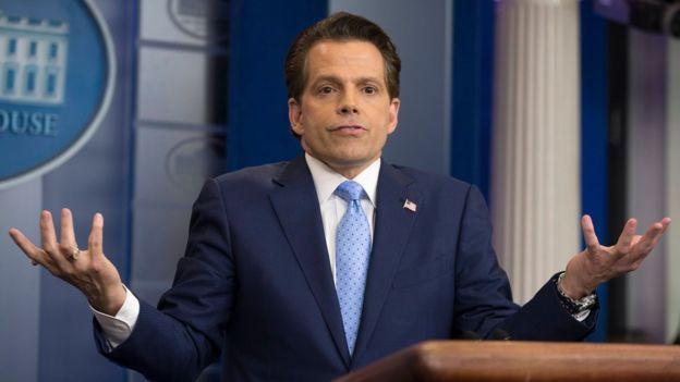 Anthony Scaramucci, nuevo jefe de comunicaciones de Trump.