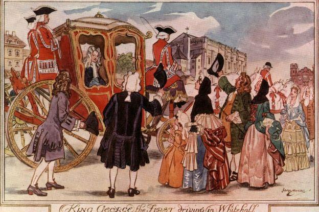 Ilustração de George 1º