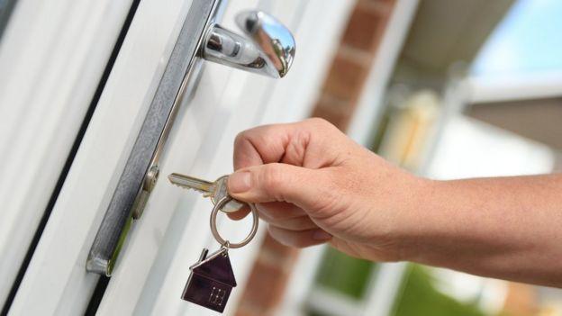 Front door key