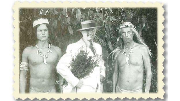 Paul Underberg na Amazônia