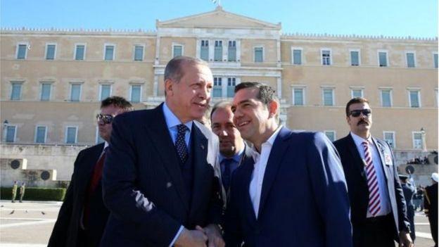 Эрдоган и Ципрас