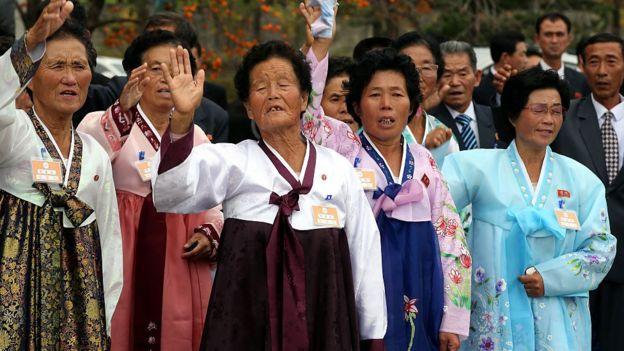 Mujeres norcoreanas
