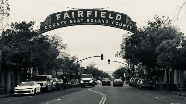 Calle de Fairfield, California